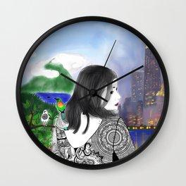 c'est moi et mon monde Wall Clock