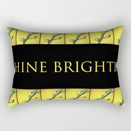 Shine brightly!!! Rectangular Pillow