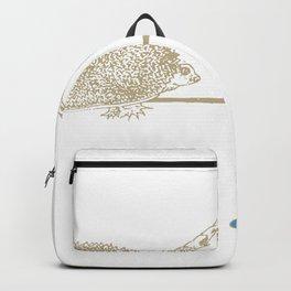 TartUnicoRiccio: Unicorno Riccio Tartaruga Backpack