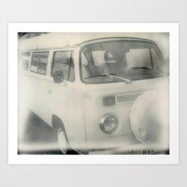 Back on the Wagen  Art Print
