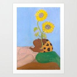 Tyler The Creator - Flower Boy - Gouache Painting Art Print