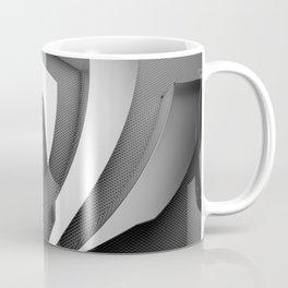 Gray 3D Texture Coffee Mug