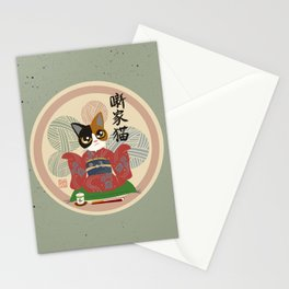 Comic story teller Stationery Cards