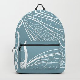 Dragonfly on Blue Backpack