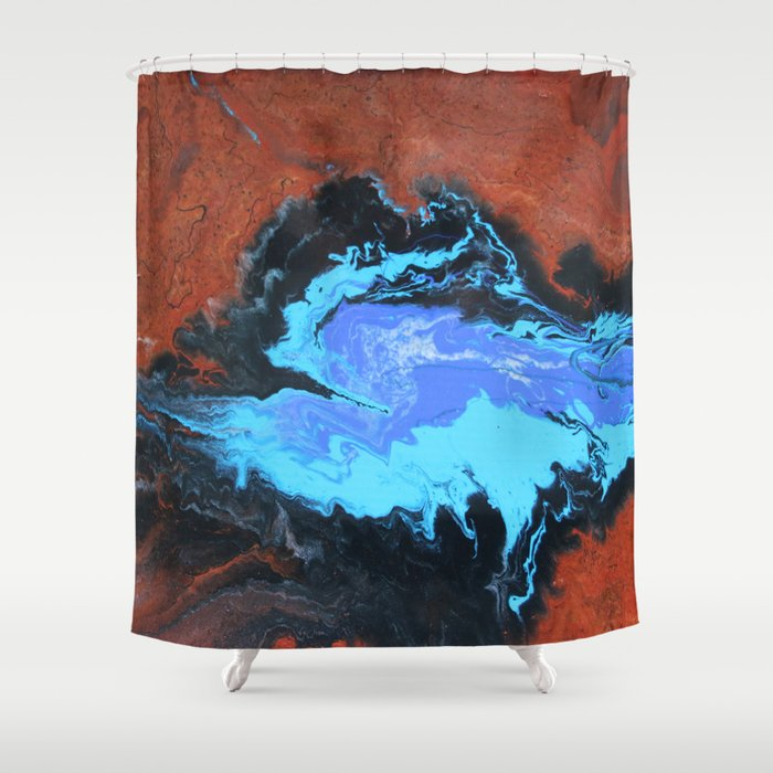Karijini Shower Curtain
