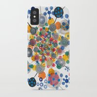 fireworks iPhone & iPod Cases featuring Fireworks by Asja Boros
