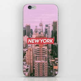 New York City (Vintage Collection) iPhone Skin