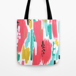 Watermelon Abstract  Tote Bag