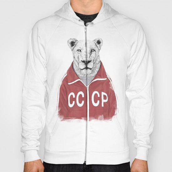 Soviet lion Hoody