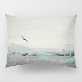Icebergs in Iceland Pillow Sham