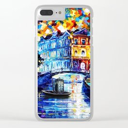 Tardis Way Clear iPhone Case
