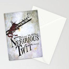Nefarious Twit, Where the Ladder Leads  Stationery Cards