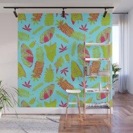 Tropical Plants Wall Mural