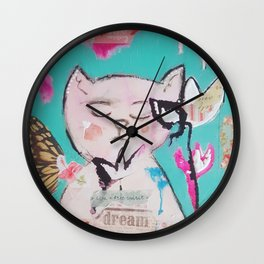 Garden Gatto Wall Clock
