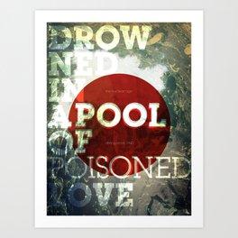 Poisoned Love Art Print