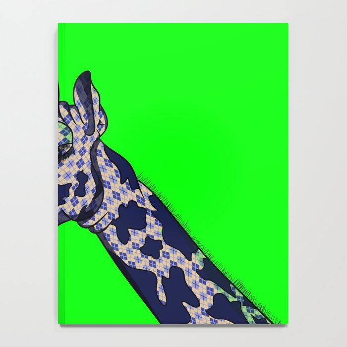 Argyle Giraffe Notebook