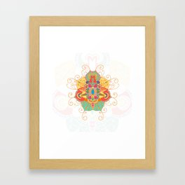 Peacefull Framed Art Print