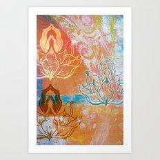 AnJali Mudra Art Print
