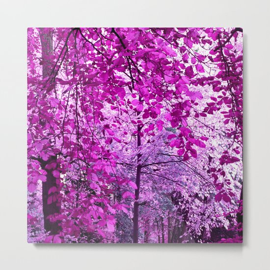 purple forest II Metal Print