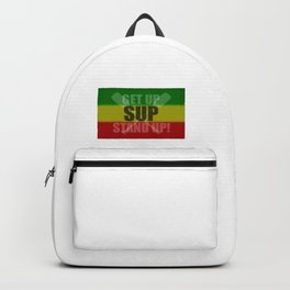 Get Up Stand Up Backpack