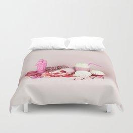 Sweet pink doom - still life Duvet Cover