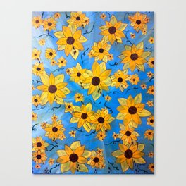 seeds sown Canvas Print