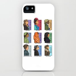 She Series - Real Women Collage Version 1 iPhone Case