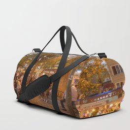 Istanbul At Night Duffle Bag