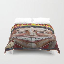 Freak Show- Funny Face Duvet Cover