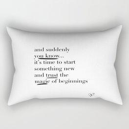 Trust the Magic Rectangular Pillow