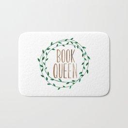 Book Queen Bath Mat