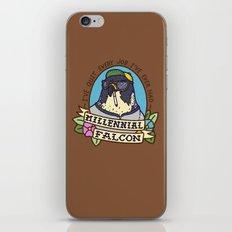 Millennial Falcon iPhone & iPod Skin