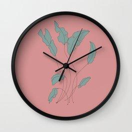 Laurel  Wall Clock