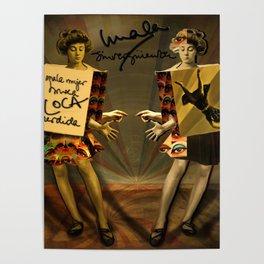 """Mala mujer"" Poster"
