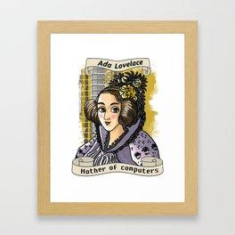 Ada Lovelace Framed Art Print
