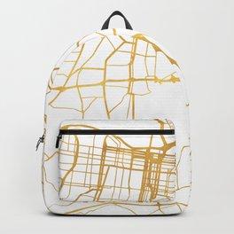 LOUISVILLE KENTUCKY CITY STREET MAP ART Backpack