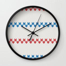 Pattern Pippi Wall Clock