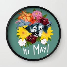 Hi May Wall Clock