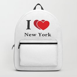 I love New York Backpack