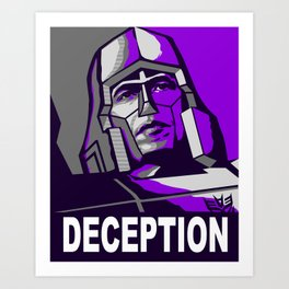 Deception 2 Art Print