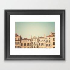 designated town of art & history ... Framed Art Print