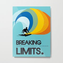 Breaking limits art print Metal Print