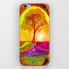 Tree of Life Sunrise iPhone Skin
