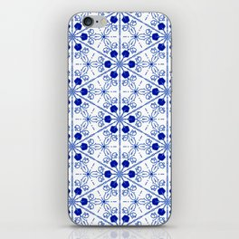 Delft Pattern 2 iPhone Skin