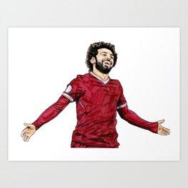 Salah Art Print