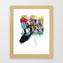Epistolarians Framed Art Print
