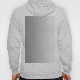 Gray to White Vertical Linear Gradient Hoody