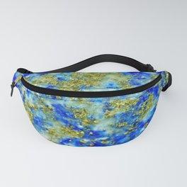 Lapis Lazuli Texture Fanny Pack
