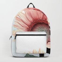 Pink Sunflower Backpack