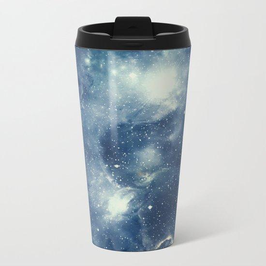 Galaxy Next Door Metal Travel Mug